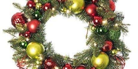 Christmas Wreath Workshop - Morning Class tickets