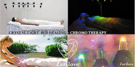 CRYSTAL LIGHT BED HEALING  WITH REIKI, AND ENERGY MASSAGE. MANCHESTER tickets