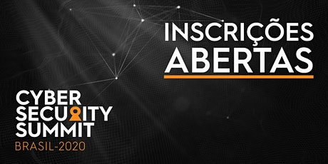 Cyber Security Summit Brasil 2020 tickets