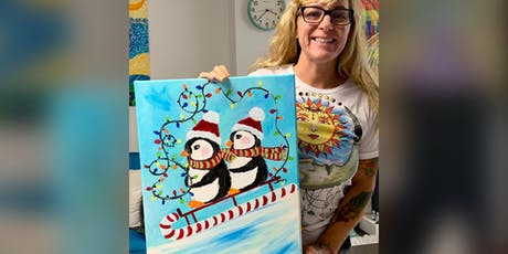 Penguins: Dundalk, Seasoned Mariner with Artist Katie Detrich! tickets