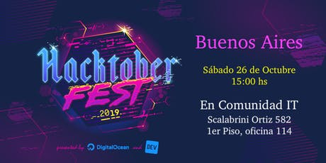 Hacktoberfest en Comunidad IT! entradas