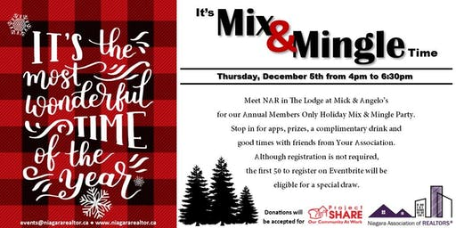 Annual Mix and Mingle for NAR Members