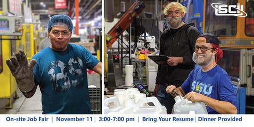On-site Manufacturing Job Fair at Schoeneck Containers Inc.