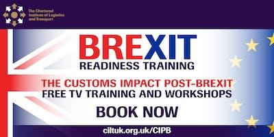 FREE CILT Brexit Workshops Customs guidance for business 24/10/19
