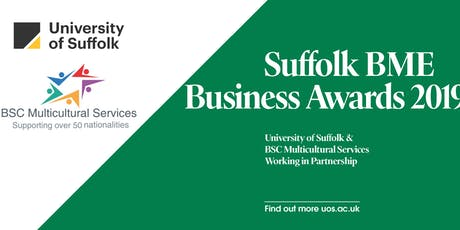 Suffolk BME Business Awards 2019 tickets