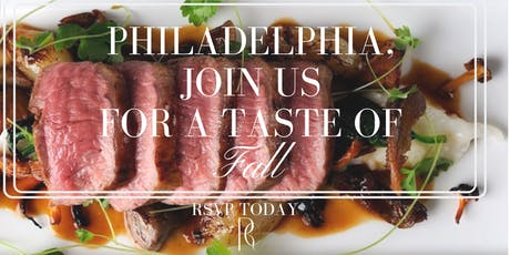 RC Catering Philly: A Taste of Fall, Come experience our new Fall Menu tickets