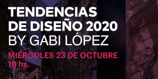 Tendencias de diseño 2020 by Gabi López