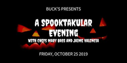 Spooktakular Evening with Chefs Mary Bass and Jaime Valencia