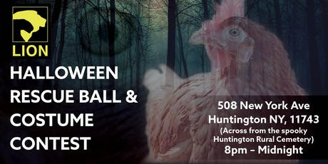 LION's Halloween Rescue Ball & Costume Contest (2nd Annual) tickets