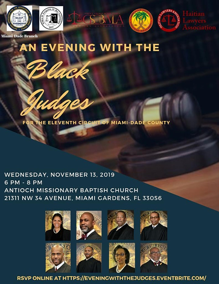An Evening with the Black Judges image