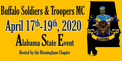 Buffalo Soldiers & Troopers MC ALABAMA State Event