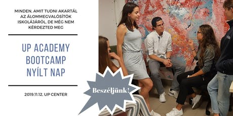 UP academy Bootcamp - NYÍLT NAP tickets