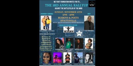 3rd Annual RallyUp Against the Battlefields of the Mind
