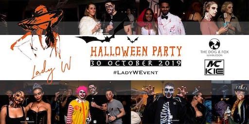 Lady Wimbledon's Halloween Party