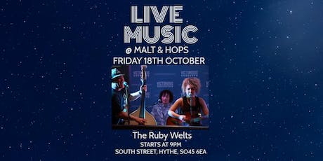 Live Music - The Ruby Welts tickets