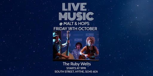 Live Music - The Ruby Welts