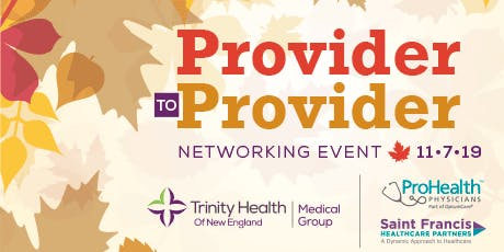 Provider to Provider: Networking Event