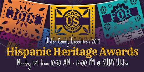 2019 Ulster County Hispanic Heritage Awards tickets