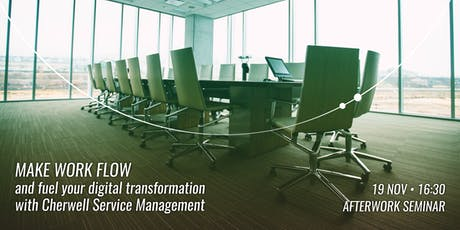 Make Work Flow and fuel your digital transformation with Cherwell tickets