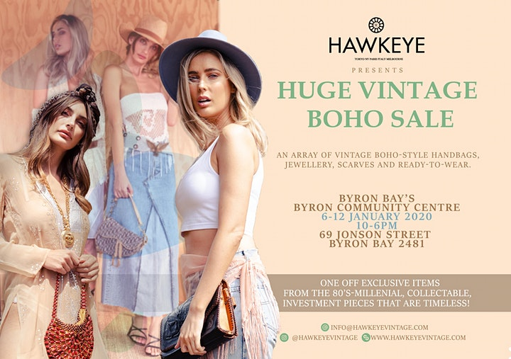 BYRON BAY Huge Unworn Vintage Fashion and Accessories CLEARANCE SALE! image