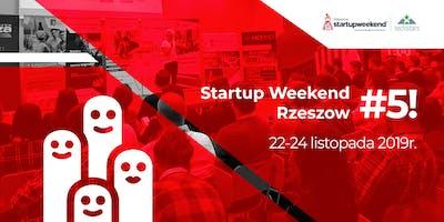 Startup Weekend Rzeszów #5
