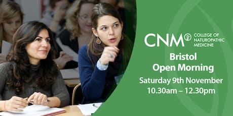 CNM Bristol - Free Open Morning tickets