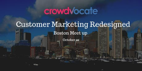 Customer Marketing Redesigned - Boston tickets