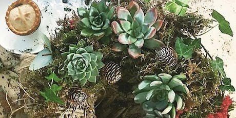Succulent Wreath Making  tickets