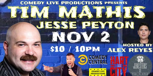 Tim Mathis LIVE Stand Up Comedy at Jokesters 22