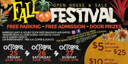 Tropiflora's 19th Annual Fall Festival