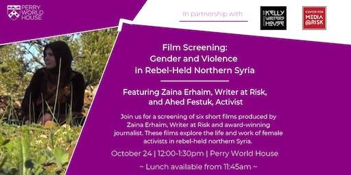 Film Screening: Gender and Violence in Rebel-Held Northern Syria