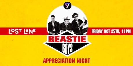 Beastie Boys Appreciation Night tickets
