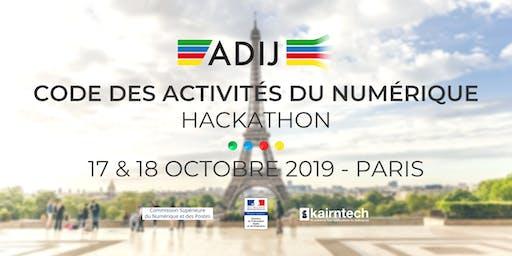 Formation Juriste Data/ préparation Hackathon ADIJ