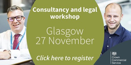 CCS Consultancy and Legal frameworks workshop - Glasgow tickets