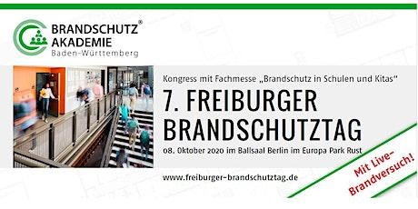 """7. Freiburger Brandschutztag - """"Brandschutz in Schulen und Kitas"""" tickets"""