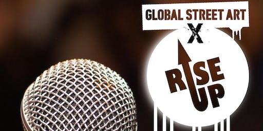 Rise Up x Global Street Art