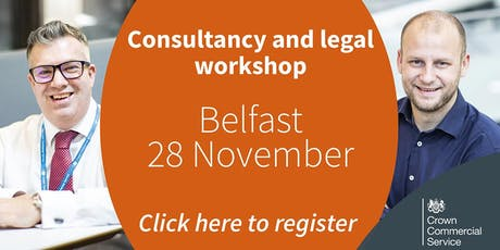 CCS Consultancy and Legal frameworks workshop - Belfast tickets