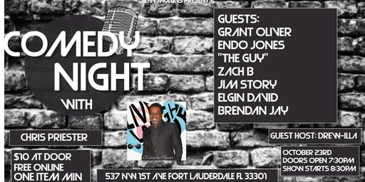 Comedy Night with Chris Priester at Next Door at C&I