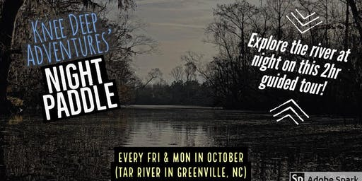 Night Paddle on the Tar River