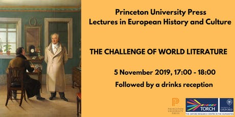Princeton University Press Lecture Series: 1, Challenge of World Literature tickets
