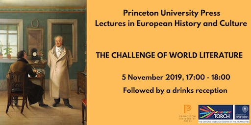 Princeton University Press Lecture Series: 1, Challenge of World Literature