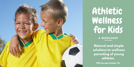 Athletic Wellness for Kids tickets