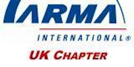 ARMA Intl. UK Chapter Meeting tickets
