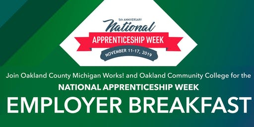 National Apprenticeship Week Breakfast Employer Breakfast