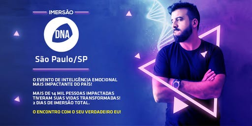 [SÃO PAULO] Imersão DNA