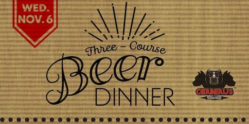 Cerberus Beer Dinner