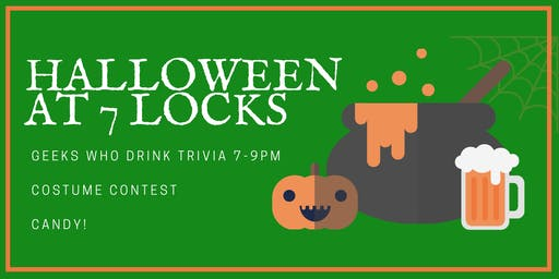 Halloween at 7 Locks Brewing