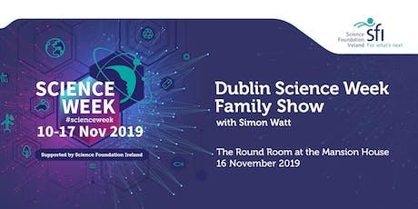 Dublin Science Week Family Show tickets