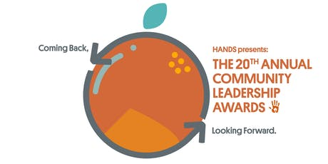 Coming Back, Looking Forward: HANDS 20th Annual Community Leadership Awards tickets