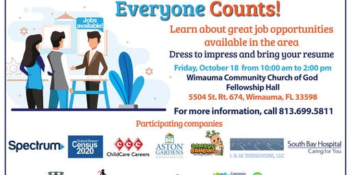 The U.S. Census Bureau Will Be Recruiting - Wimauma CDC Job Fair